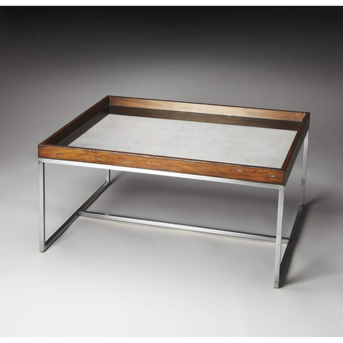 Butler Eastwood Mirrored Coffee Table 2696140-Cocktail Tables-Floor Mirror Gallery