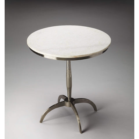 Butler Palmilla Marble & Metal Accent Table 2868140-Accent Table-Floor Mirror Gallery