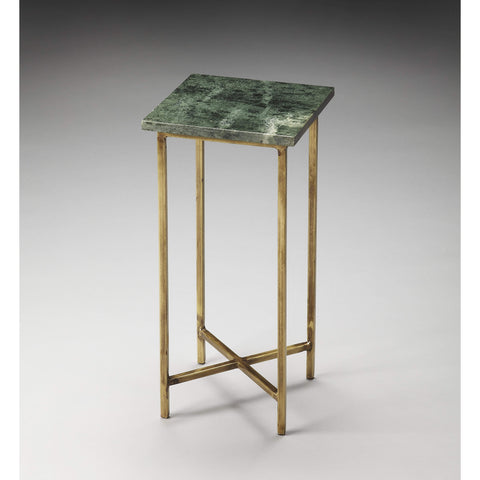 Butler Versilia Green Marble Scatter Table 2869140-ACCENT TABLE-Floor Mirror Gallery