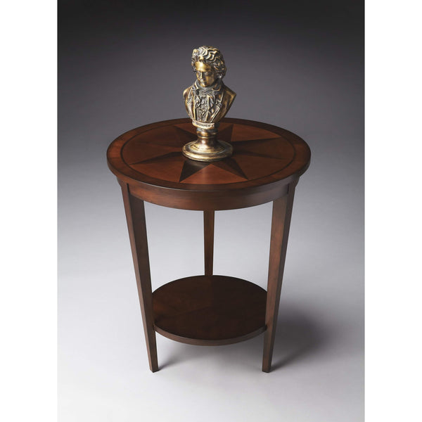 Butler Serenade Nutmeg Accent Table 2946251-Accent Table-Floor Mirror Gallery