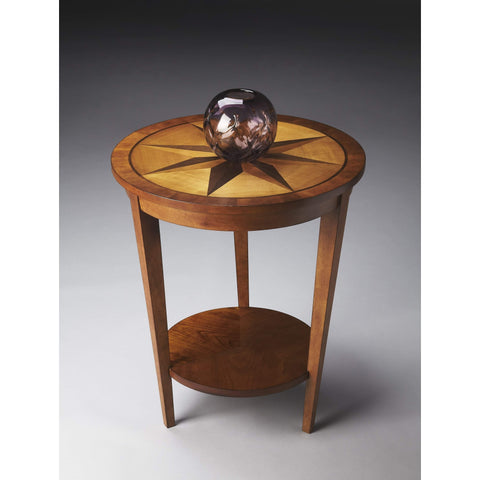 Butler Serenade Honey Accent Table 2946257-ACCENT TABLE-Floor Mirror Gallery