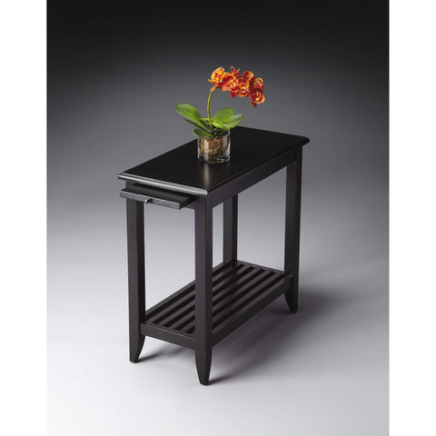 Butler Irvine Black Licorice Chairside Table 3025111-Chairside Chests-Floor Mirror Gallery