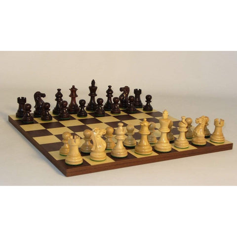 Rswd American Emperor Drk Rswd Brd, WW Chess, India-China, 30RAE-DR, by WorldWise Imports-Chess Set-Floor Mirror Gallery