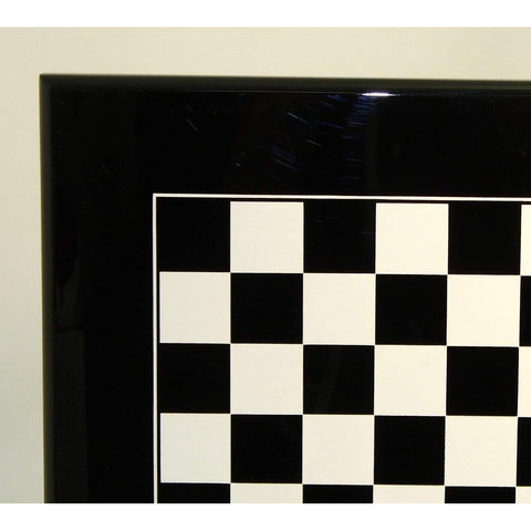 Black & White Wood Board, Ital Fama, Italy, 341BW, by WorldWise Imports-Chess Board-Floor Mirror Gallery