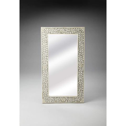 Butler Bone Inlay Wall Mirror 3479321-Wall Mirror-Floor Mirror Gallery