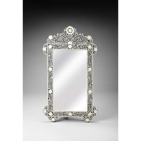 Butler Bone Inlay Wall Mirror 3481318-Wall Mirror-Floor Mirror Gallery