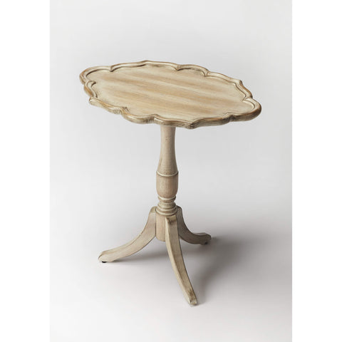 Butler Higgins Driftwood Oval Pedestal Table 3504247-Accent Table-Floor Mirror Gallery