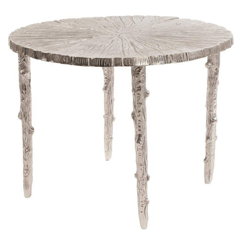 Howard Elliott Silver Tree Side Table 19H x 26W x 26D - 35062-Accent Table-Floor Mirror Gallery