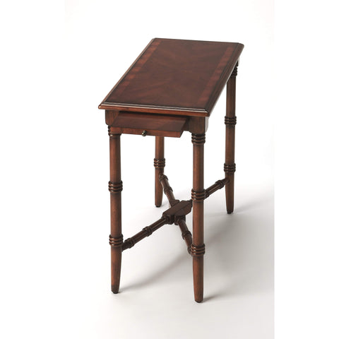Butler Skilling Antique Cherry Chairside Table 3531011-Accent Table-Floor Mirror Gallery