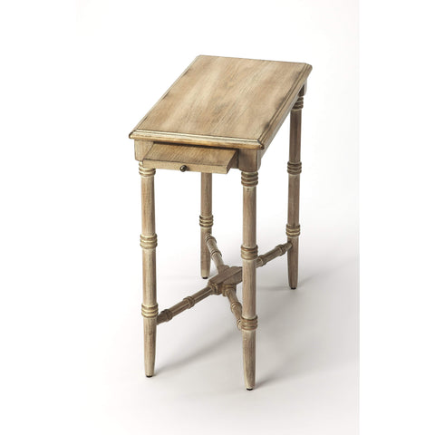 Butler Skilling Driftwood Chairside Table 3531247-ACCENT TABLE-Floor Mirror Gallery