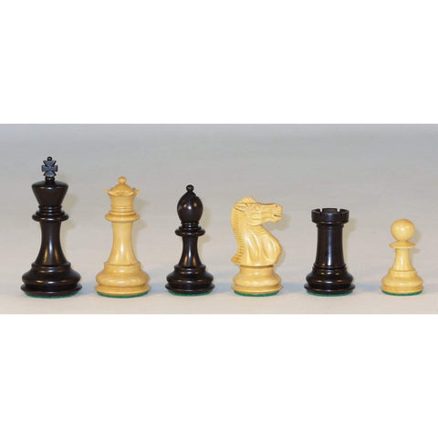 Medium Black New Classic, Checkmate, India, 35BNC, by WorldWise Imports-Chessmen-Floor Mirror Gallery