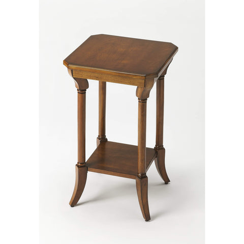 Butler Darla Antique Cherry End Table 3628011-Accent Table-Floor Mirror Gallery