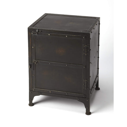Butler Owen Industrial Side Chest 3642330-Chairside Chests-Floor Mirror Gallery