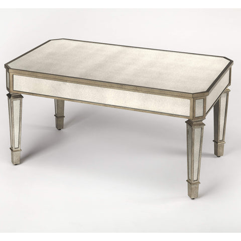 Butler Bethany Mirrored Coffee Table 3664146-Cocktail Tables-Floor Mirror Gallery