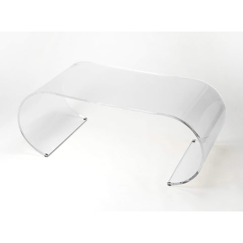 Butler Milan Arched Acrylic Coffee Table 3738335-Cocktail Tables-Floor Mirror Gallery