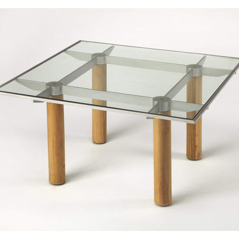 Butler Cirrus Glass & Metal Coffee Table 3782140-Cocktail Tables-Floor Mirror Gallery