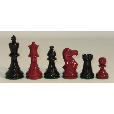 Black and Red Classic, Checkmate, India, 37GBRC, by WorldWise Imports-Chessmen-Floor Mirror Gallery