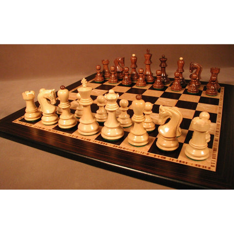 Shshm Old Russian on Ebony Brd, WW Chess, India-China, 37SO-EBM, by WorldWise Imports-Chess Set-Floor Mirror Gallery