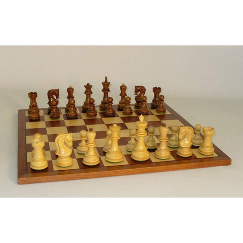Shshm Old Russian on Sapele Brd, WW Chess, India-China, 37SO-SM, by WorldWise Imports-Chess Set-Floor Mirror Gallery