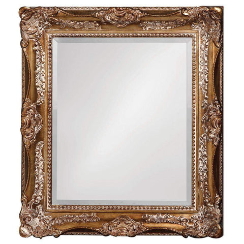 Howard Elliott Thames Scroll Mirror 34H x 28W x 2D - 4028-Wall Mirror-Floor Mirror Gallery