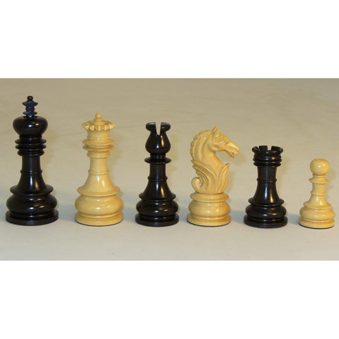 Black & Natural Lotus, Checkmate, India, 40BLOT, by WorldWise Imports-Chessmen-Floor Mirror Gallery