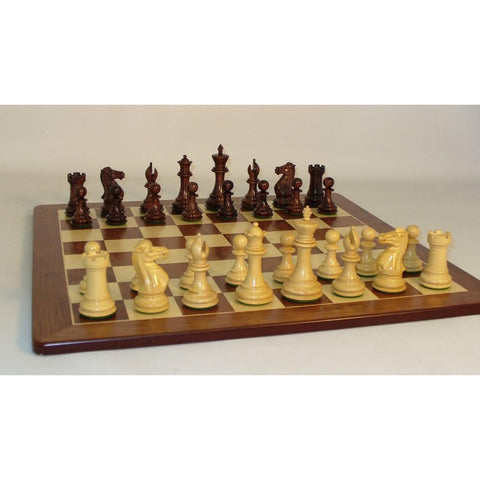 Rosewood Exclusive on Padauk Brd, WW Chess, India-China, 40RE-PM, by WorldWise Imports-Chess Set-Floor Mirror Gallery