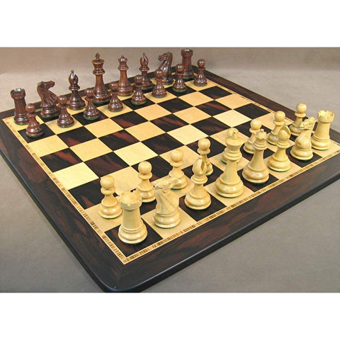 Sheesham Exclusive Chess Set, WW Chess, India-China, 40SE-EBM, by WorldWise Imports-Chess Set-Floor Mirror Gallery