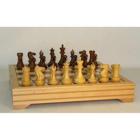 Sheesham Exclusive Beech Chest, WW Chess, India-China, 40SE-ICT, by WorldWise Imports-Chess Set-Floor Mirror Gallery