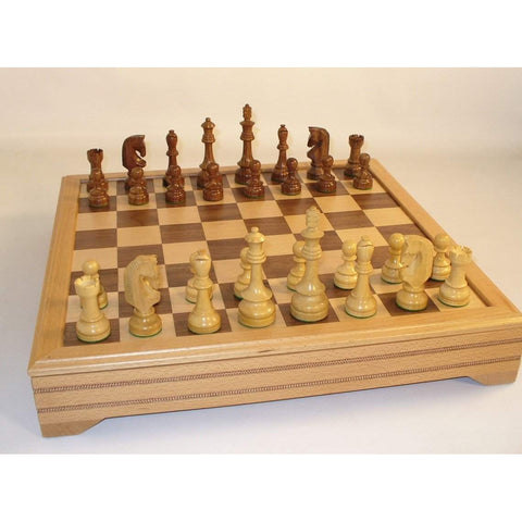 Traditional Russian with Chest, WW Chess, India-China, 42STR-ICT, by WorldWise Imports-Chess Set-Floor Mirror Gallery