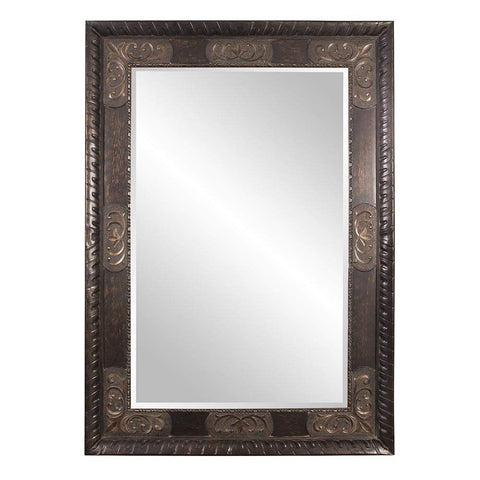 Howard Elliott Tate Leaner Mirror 84H x 60W x 3D - 43002-Wall Mirror-Floor Mirror Gallery