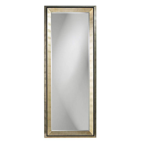 Howard Elliott Detroit Leaner Mirror 80H x 32W x 3D - 43012-Wall Mirror-Floor Mirror Gallery