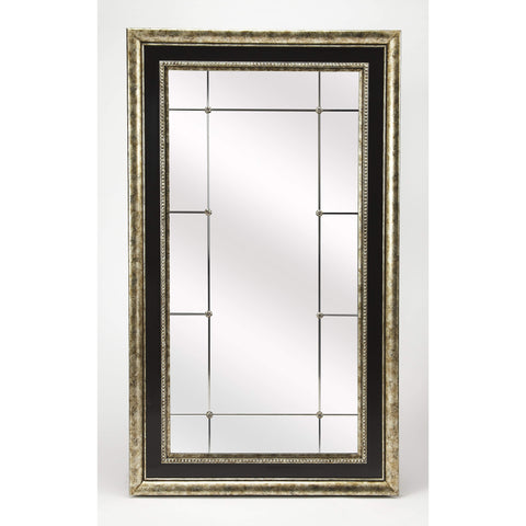 Butler Myron Antique Pewter Full Length Mirror 4302400-Full Length Mirror-Floor Mirror Gallery
