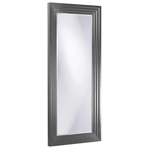 Howard Elliott Delano Charcoal Gray Tall Mirror 82H x 34W x 2D - 43057CH-Wall Mirror-Floor Mirror Gallery