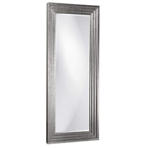 Howard Elliott Delano Nickel Tall Mirror 82H x 34W x 2D - 43057N-Wall Mirror-Floor Mirror Gallery