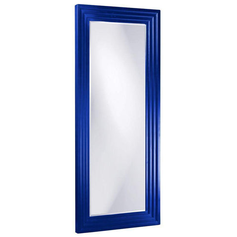 Howard Elliott Delano Royal Blue Tall Mirror 82H x 34W x 2D - 43057RB-Wall Mirror-Floor Mirror Gallery