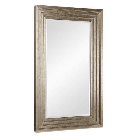 "Howard Elliott Delano Small Silver Mirror 34"" x 46"" x 2""-Wall Mirror-Floor Mirror Gallery"