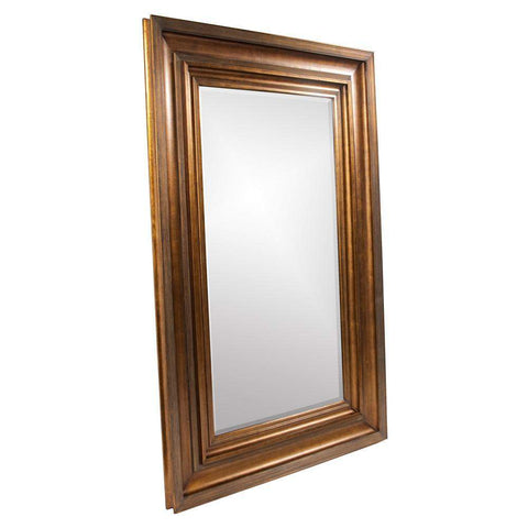 Howard Elliott Baxter Antique Gold Mirror 90H x 58W x 3D - 43072-Wall Mirror-Floor Mirror Gallery