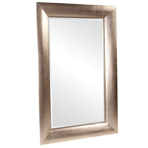 Howard Elliott Barron Silver Leaf Mirror 78H x 50W x 3D - 43103-Wall Mirror-Floor Mirror Gallery