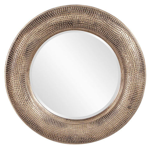 Howard Elliott Raymus Round Mirror 36H x 36W x 3D - 43108-Wall Mirror-Floor Mirror Gallery