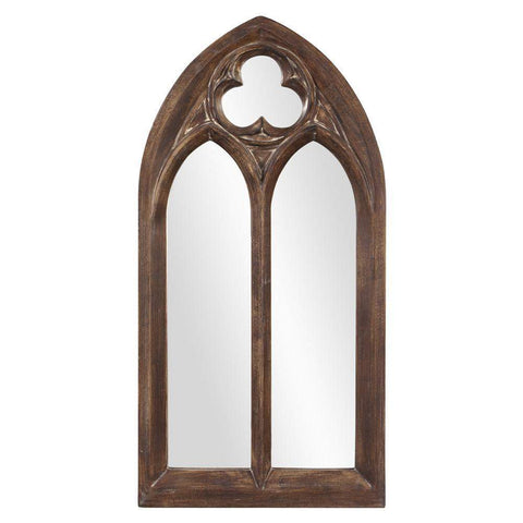 Howard Elliott Basilica Arched Mirror - Narrow 69H x 36W x 2D - 43124-Wall Mirror-Floor Mirror Gallery