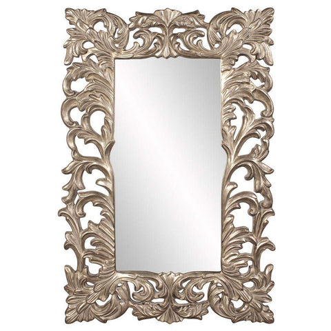 Howard Elliott Augustus Antique Silver Mirror 70H x 46W x 2D - 43130-Wall Mirror-Floor Mirror Gallery