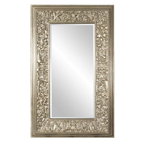 Howard Elliott Emperor Oversized Champaign Mirror 95H x 58W x 4D - 43151-Wall Mirror-Floor Mirror Gallery