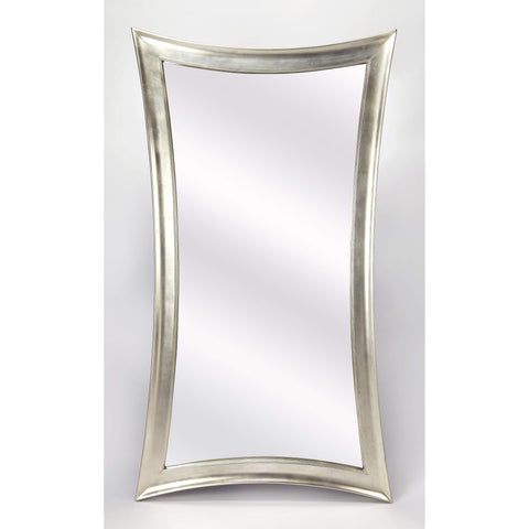 Butler Athena Ii Silver Full Length Mirror 4318285-Full Length Mirror-Floor Mirror Gallery