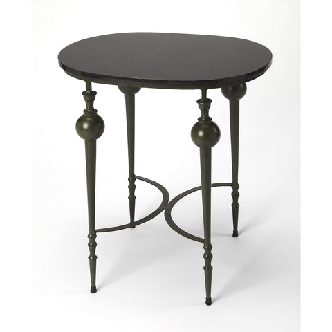 Butler Mosley Stone & Metal End Table 4444025-Accent Table-Floor Mirror Gallery