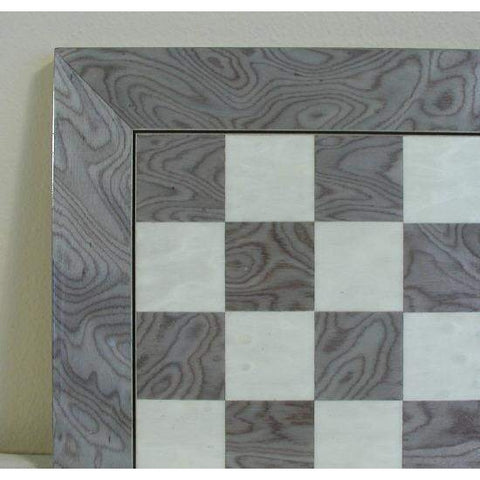 "17"" Grey & Ivory wide frame Brd, Ferrer, Spain, 45440GY, by WorldWise Imports-Chess Board-Floor Mirror Gallery"