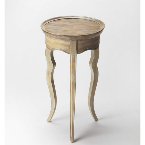 Butler Sophia Driftwood Round Accent Table 5007247-Accent Table-Floor Mirror Gallery