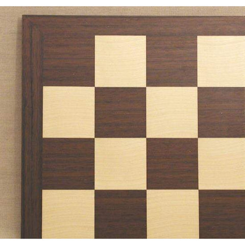 "17"" Drk Rosewood & Maple Brd, Ferrer, Spain, 50440DR, by WorldWise Imports-Chess Board-Floor Mirror Gallery"