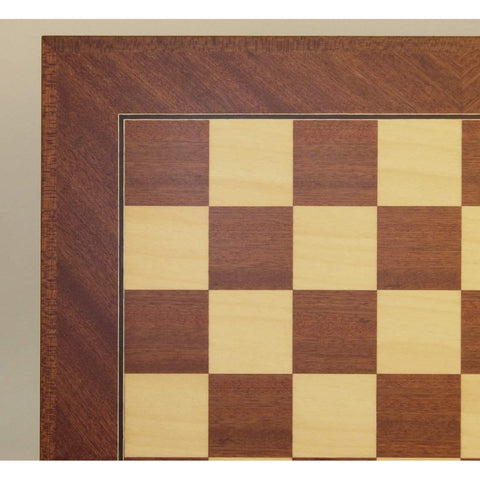 "19.75"" Mahogany & Maple Brd, Ferrer, Spain, 50500M, by WorldWise Imports-Chess Board-Floor Mirror Gallery"