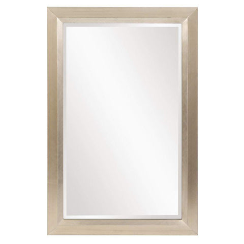 Howard Elliott Avery Large Silver Mirror 42H x 28W x 2D - 51211-Wall Mirror-Floor Mirror Gallery