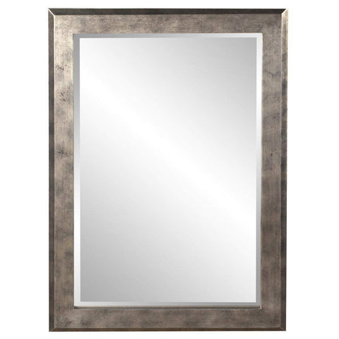 Howard Elliott Charlize Silver Leaf Mirror 42H x 30W x 2D - 51271-Wall Mirror-Floor Mirror Gallery
